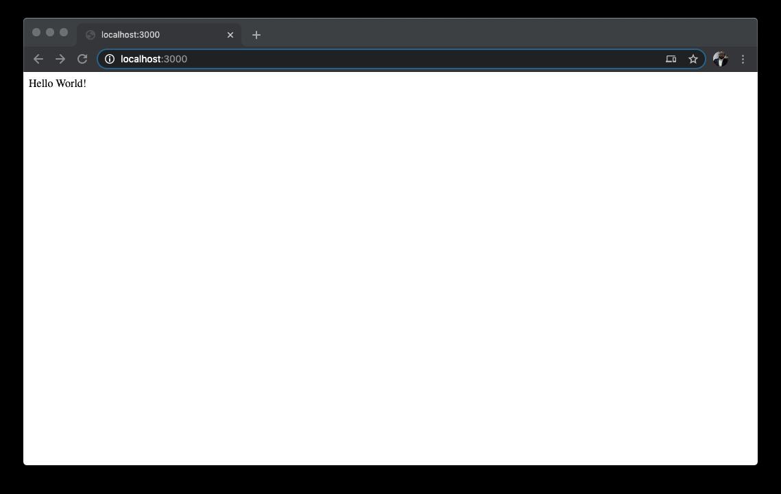 Nest.js Default page
