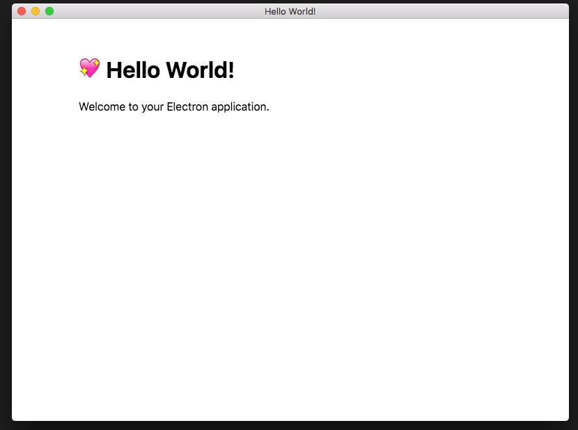 App Launch. No devtools