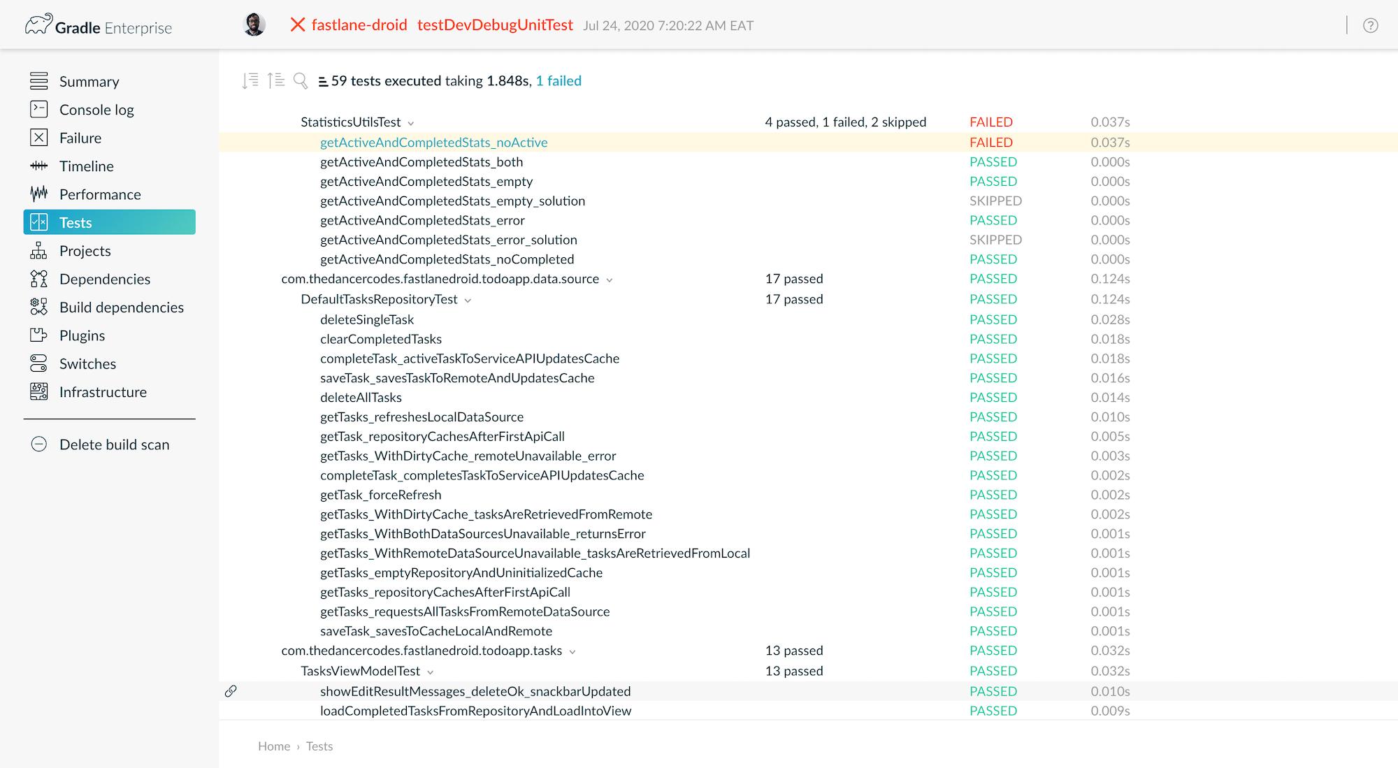 CI Build Scan 4