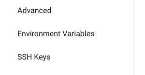 Environment variables - CircleCI