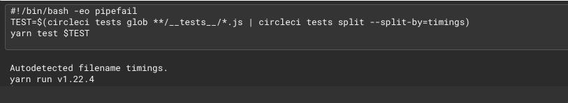 Test logs