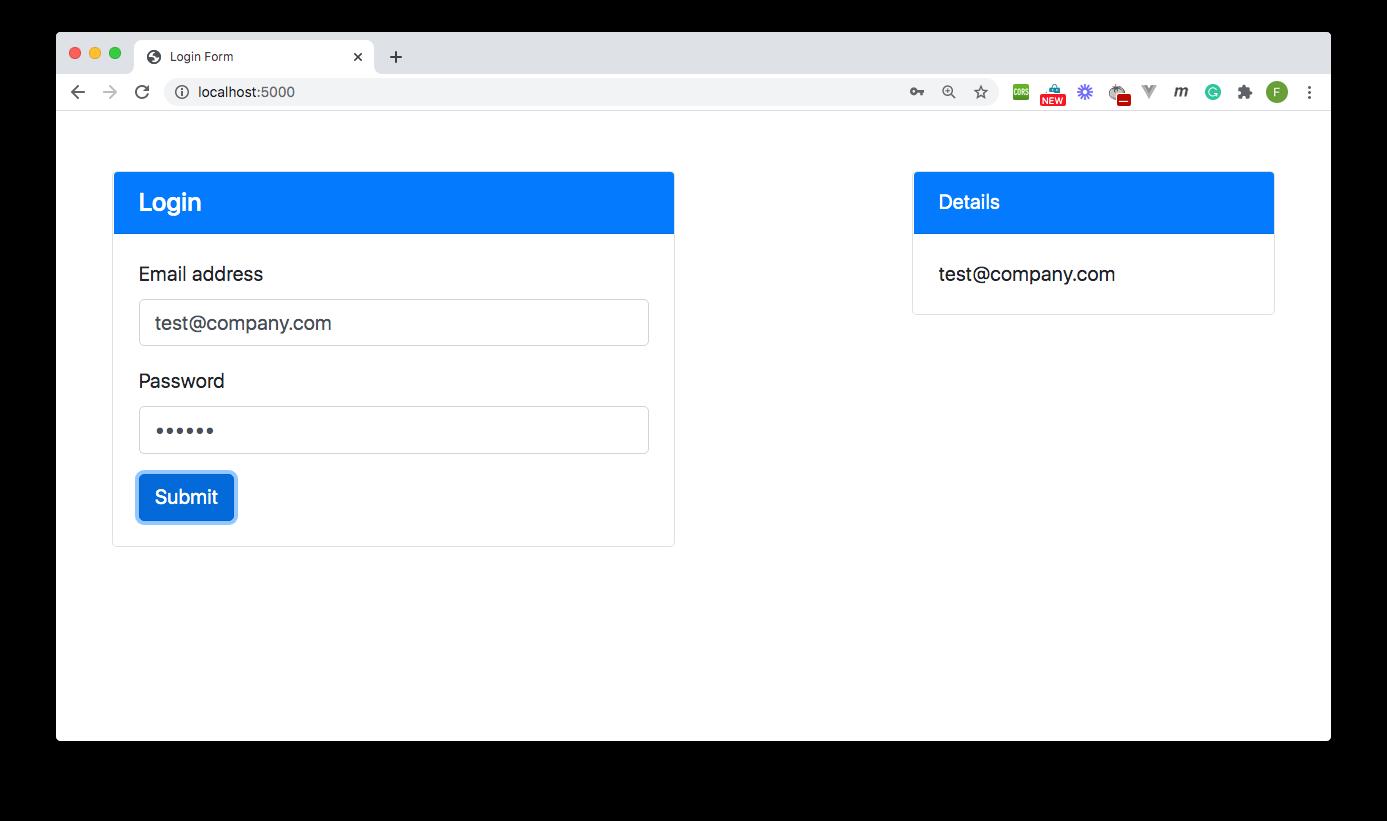 Fill form - Demo App