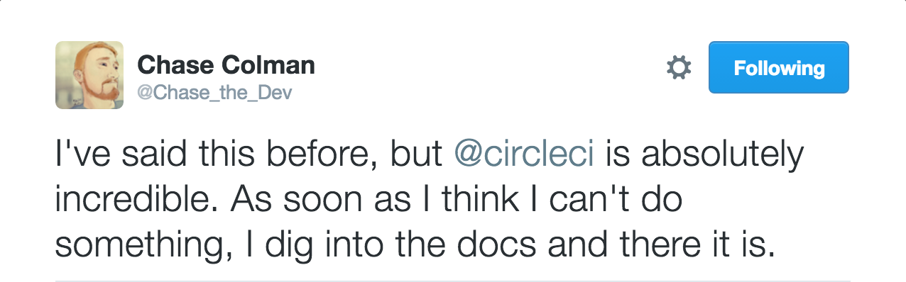 Docs Tweet