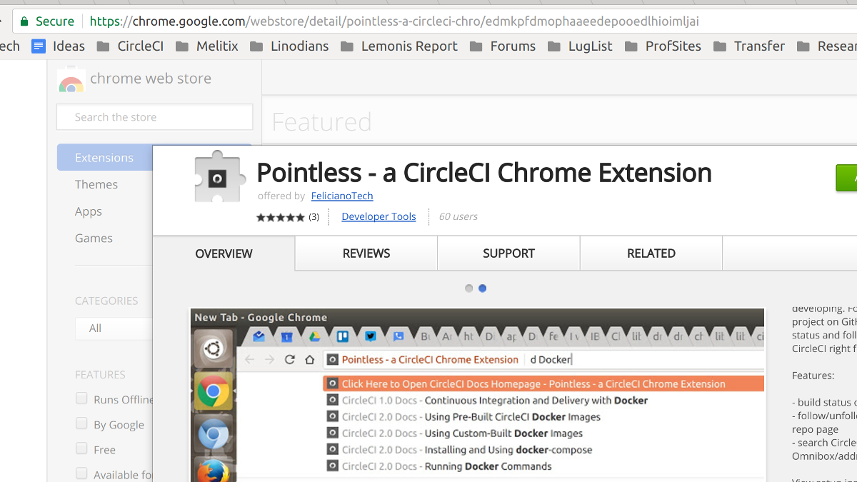 Chrome Store Screenshot