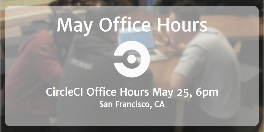 May Office Hours